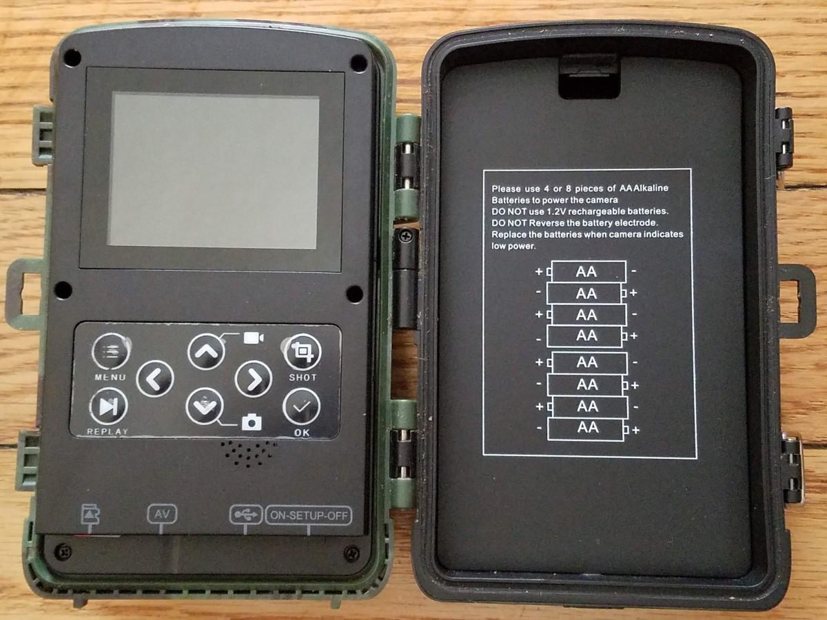 Inside Toguard H45 Hunting Camera