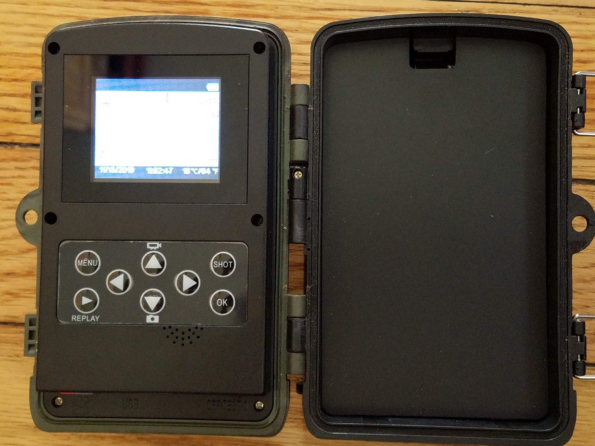 Inside Henf HC801A Trail Camera