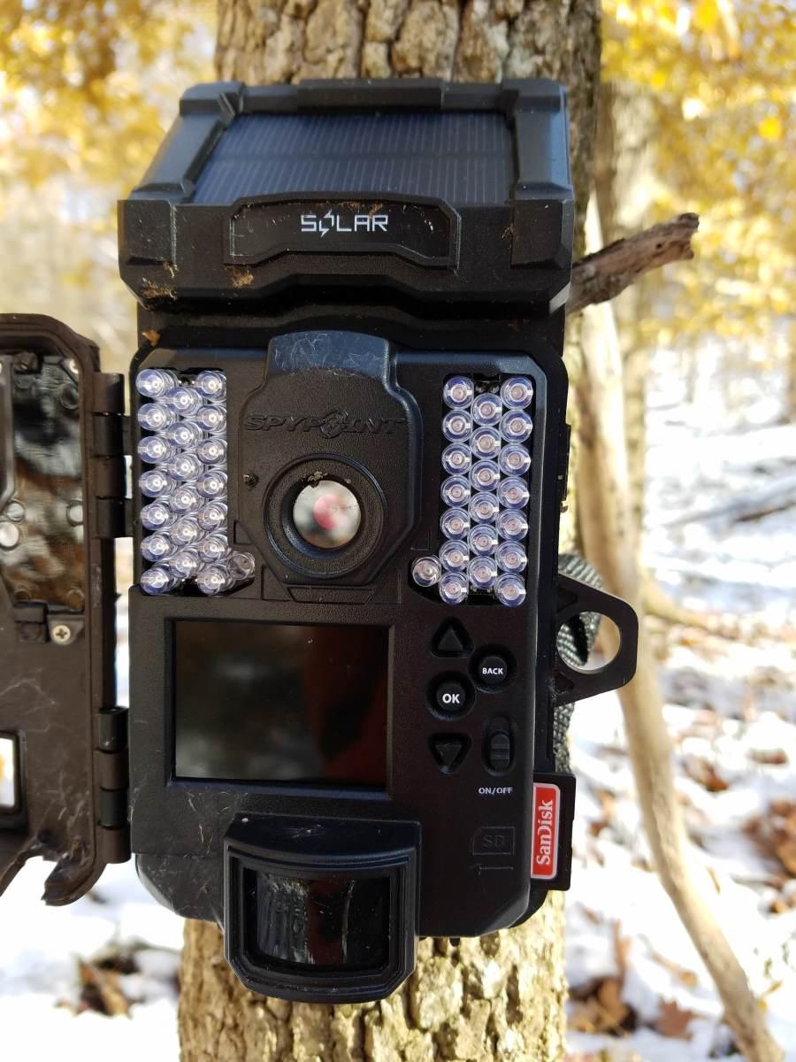 Inside Spypoint Solar-W Trail Camera