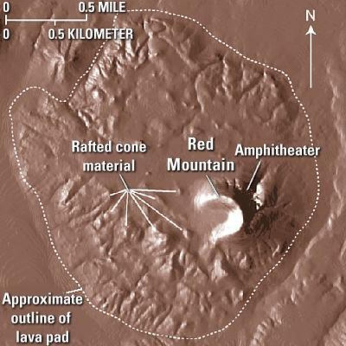 Red Mountain Digital Elevation Model (DEM)