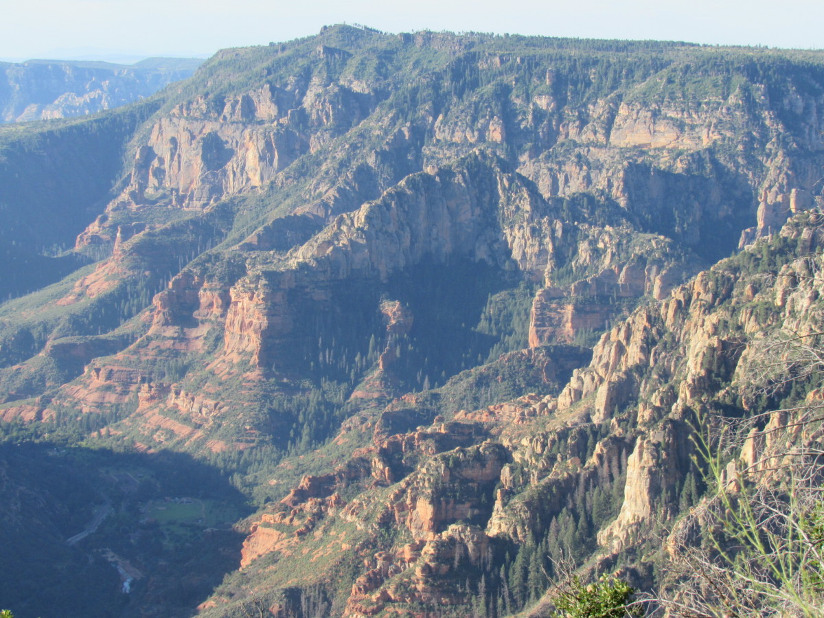 Oak Creek Canyon from the AB Young Trail