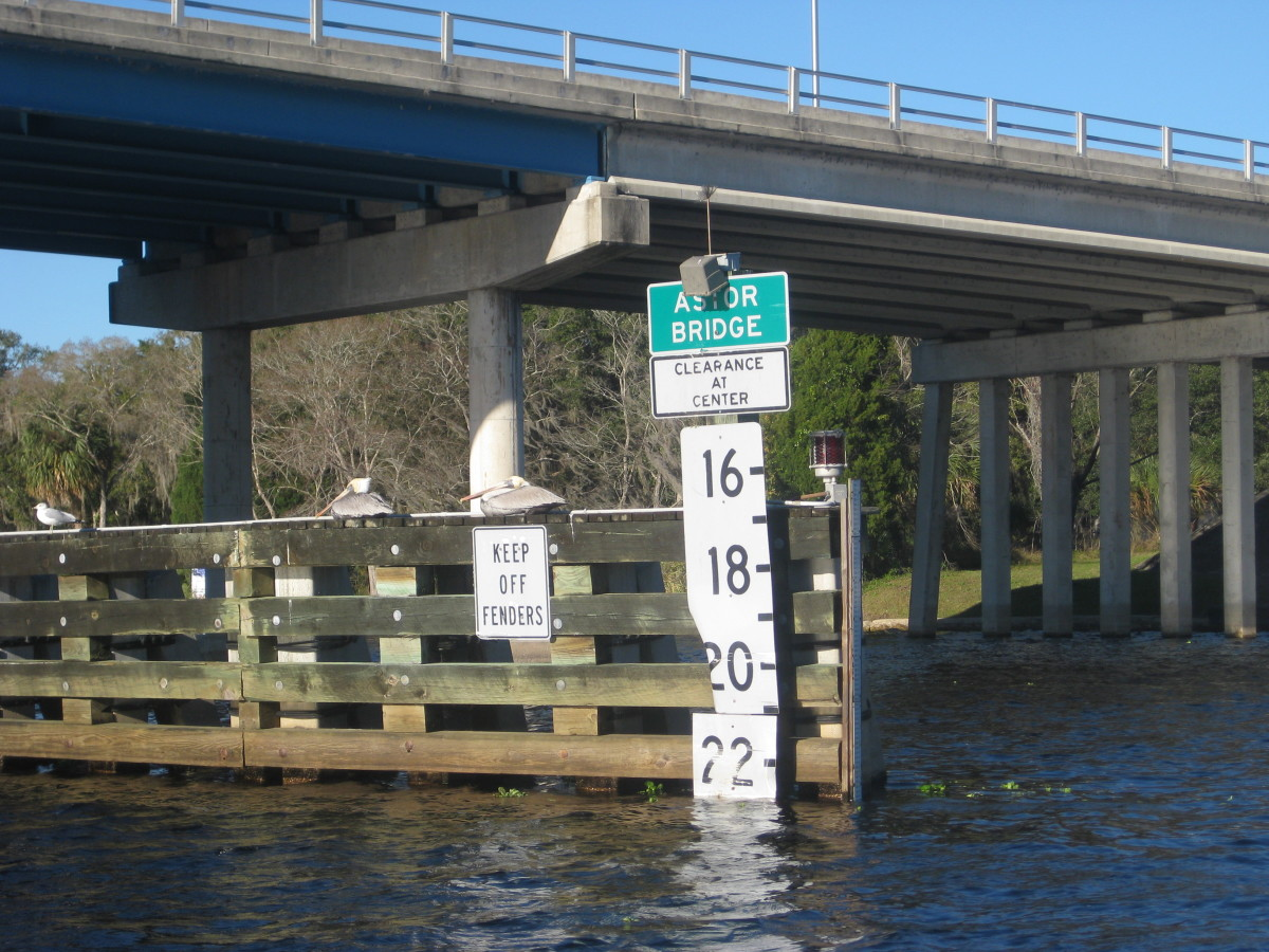 Bridges make excellent flounder habitat.  Try fishing the down-current side of the bridge for best results.