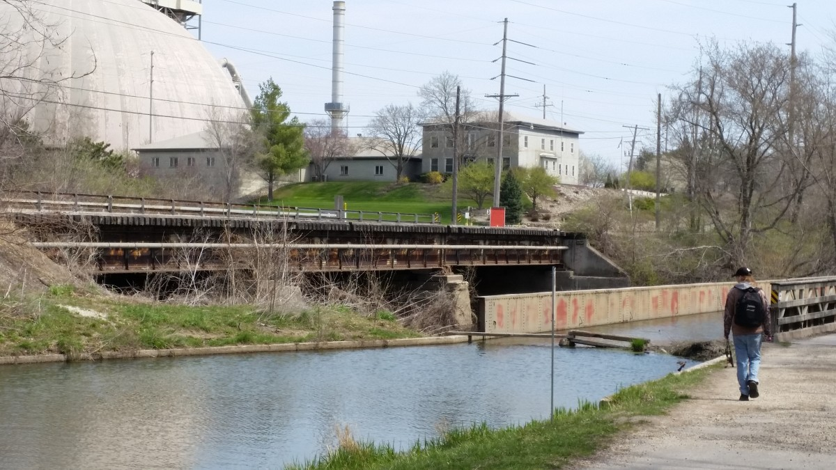I&M Canal east of Lock 14 in LaSalle