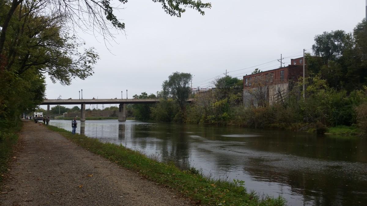 I&M Canal near Lock 14 in LaSalle