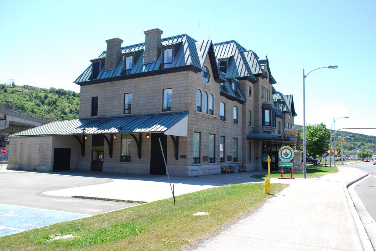 The Railway Coastal Museum, St. John's, NL.