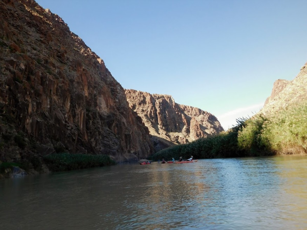 Float trip over Rio Grande