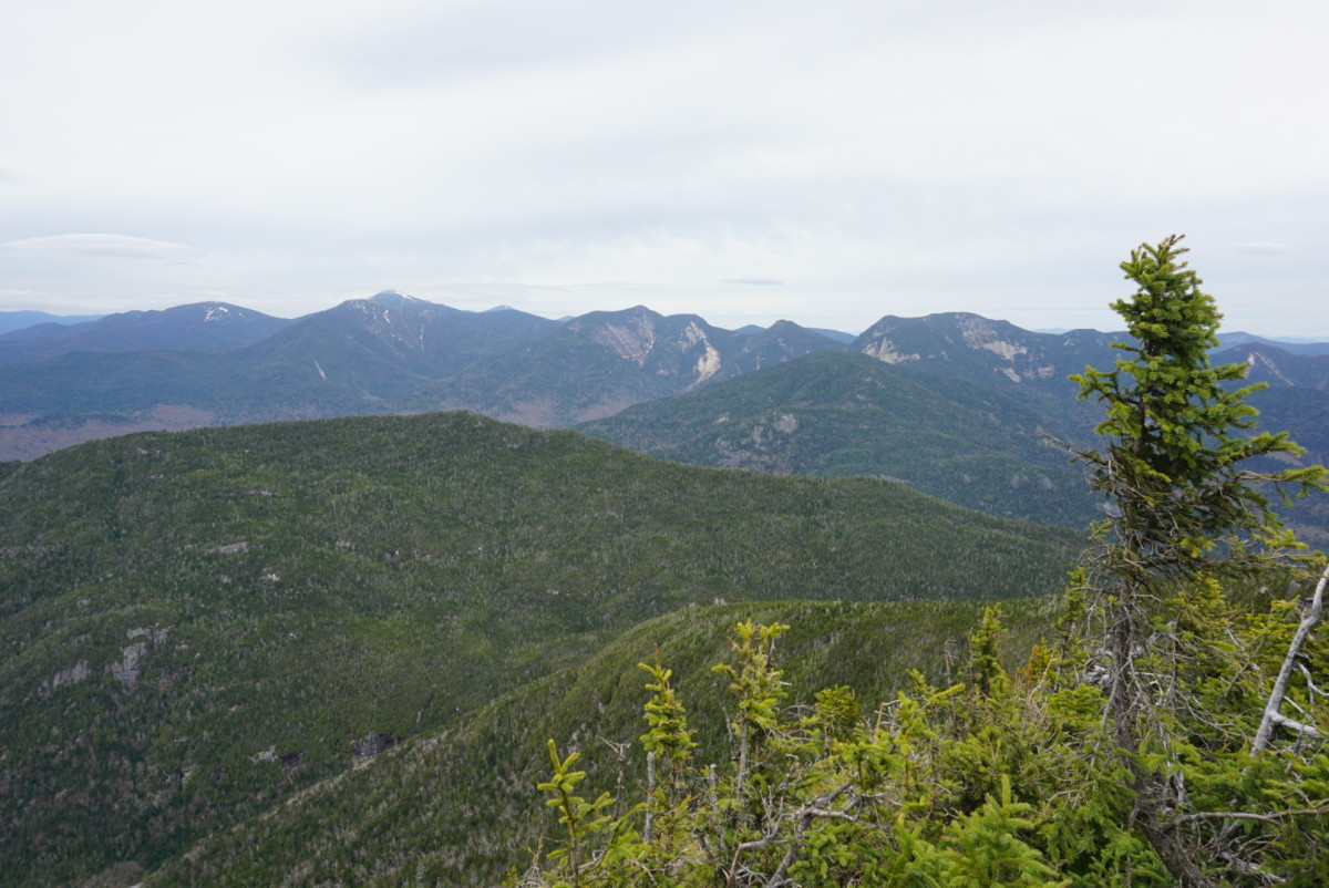 View from Nippletop Summit