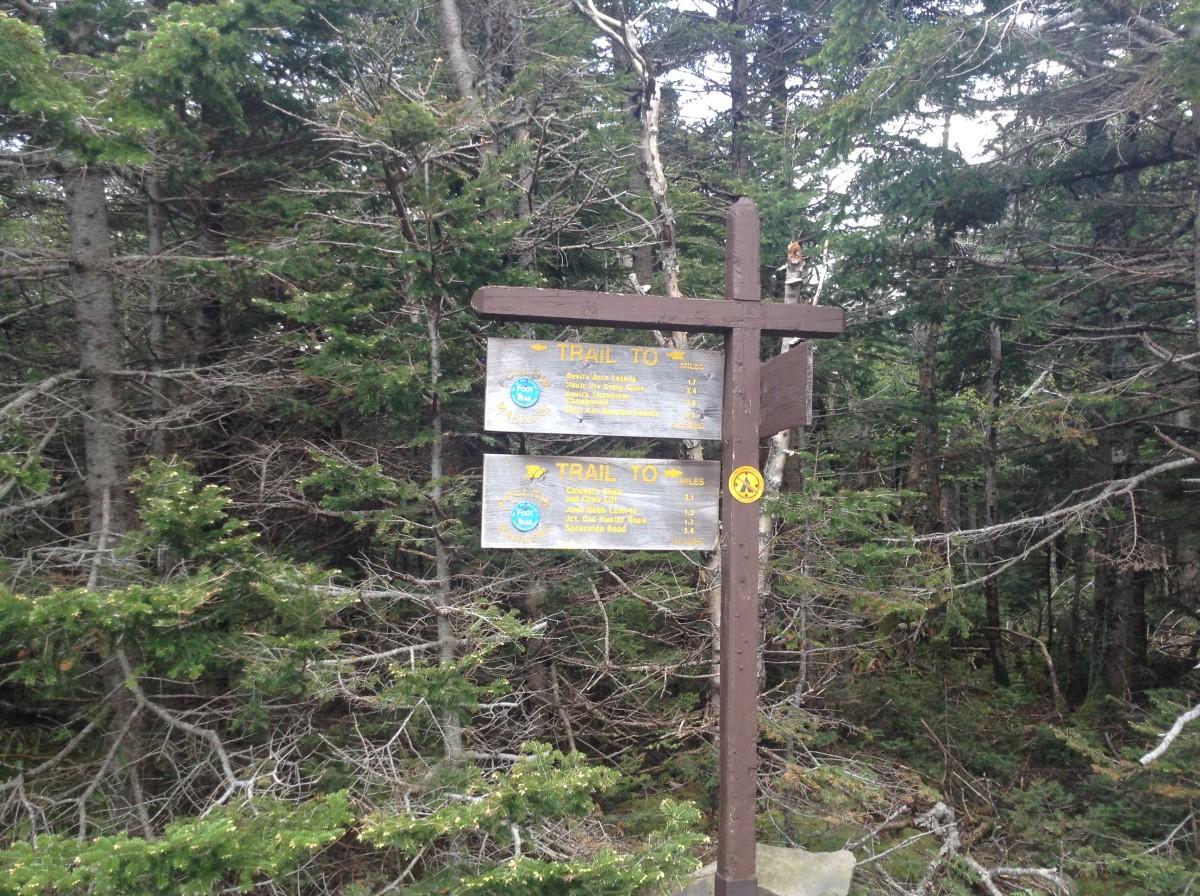 Sign Behind Ranger Cabin
