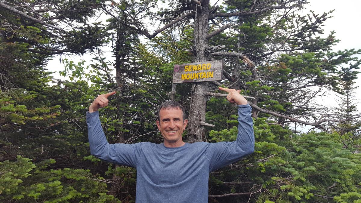 Summit of Seward Mountain