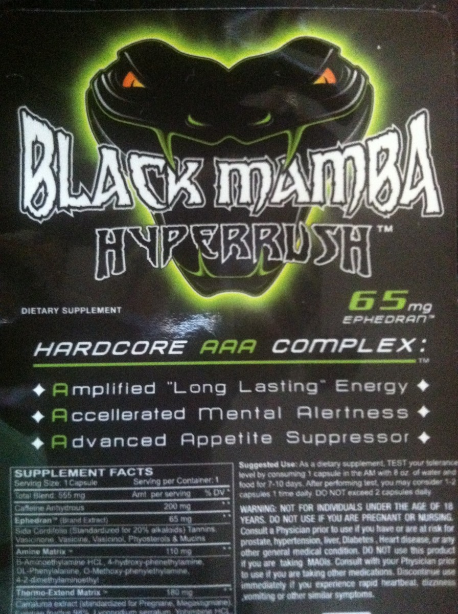 Black Mamba Hyper Rush