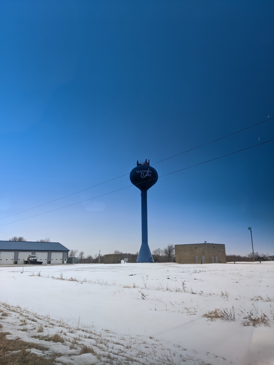 Their water tower need