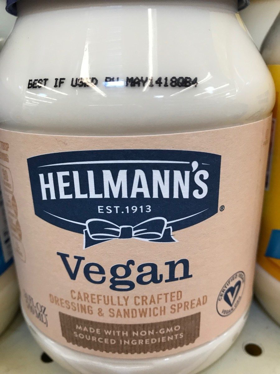 Yes, there's vegan mayonnaise!  Make your own salad dressings or use it on vegan sandwiches or in recipes.