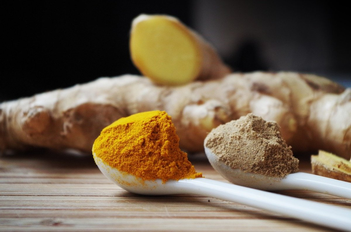 Ginger is an ancient root used for healing. In powder form, it is easy to administer.