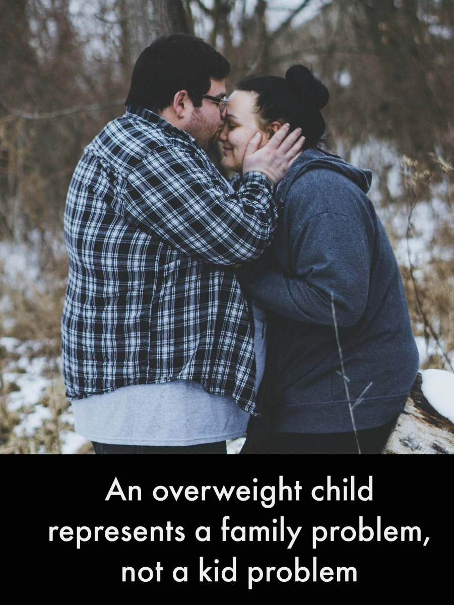 Parents of obese kids need to acknowledge their role in creating the problem and in solving it.