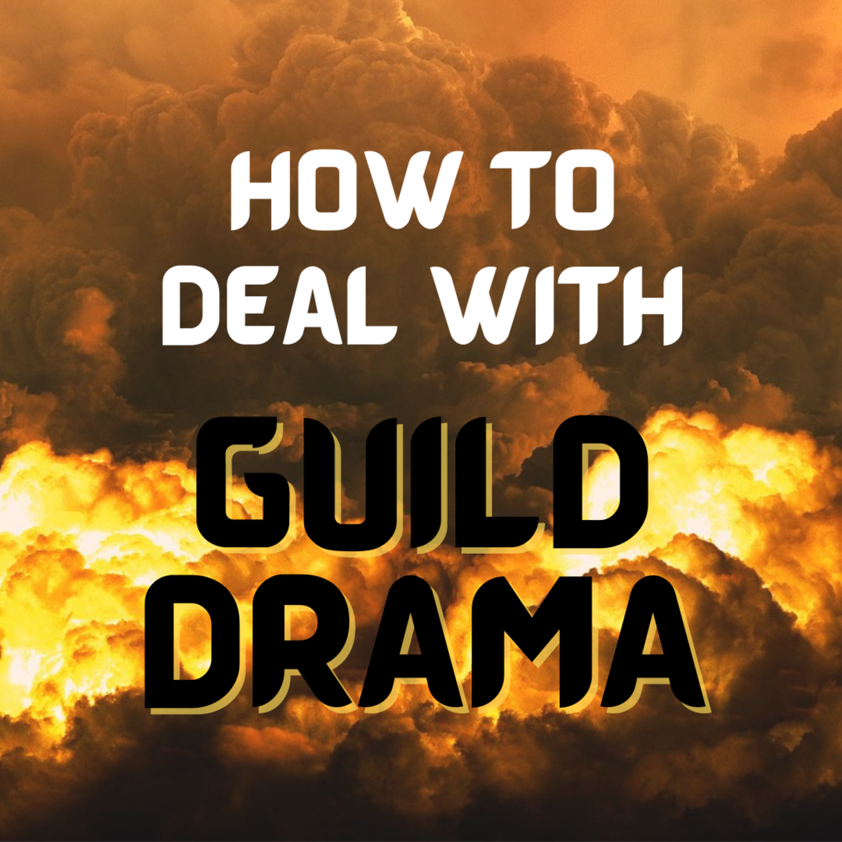 Learn how to handle drama in your MMO guild.