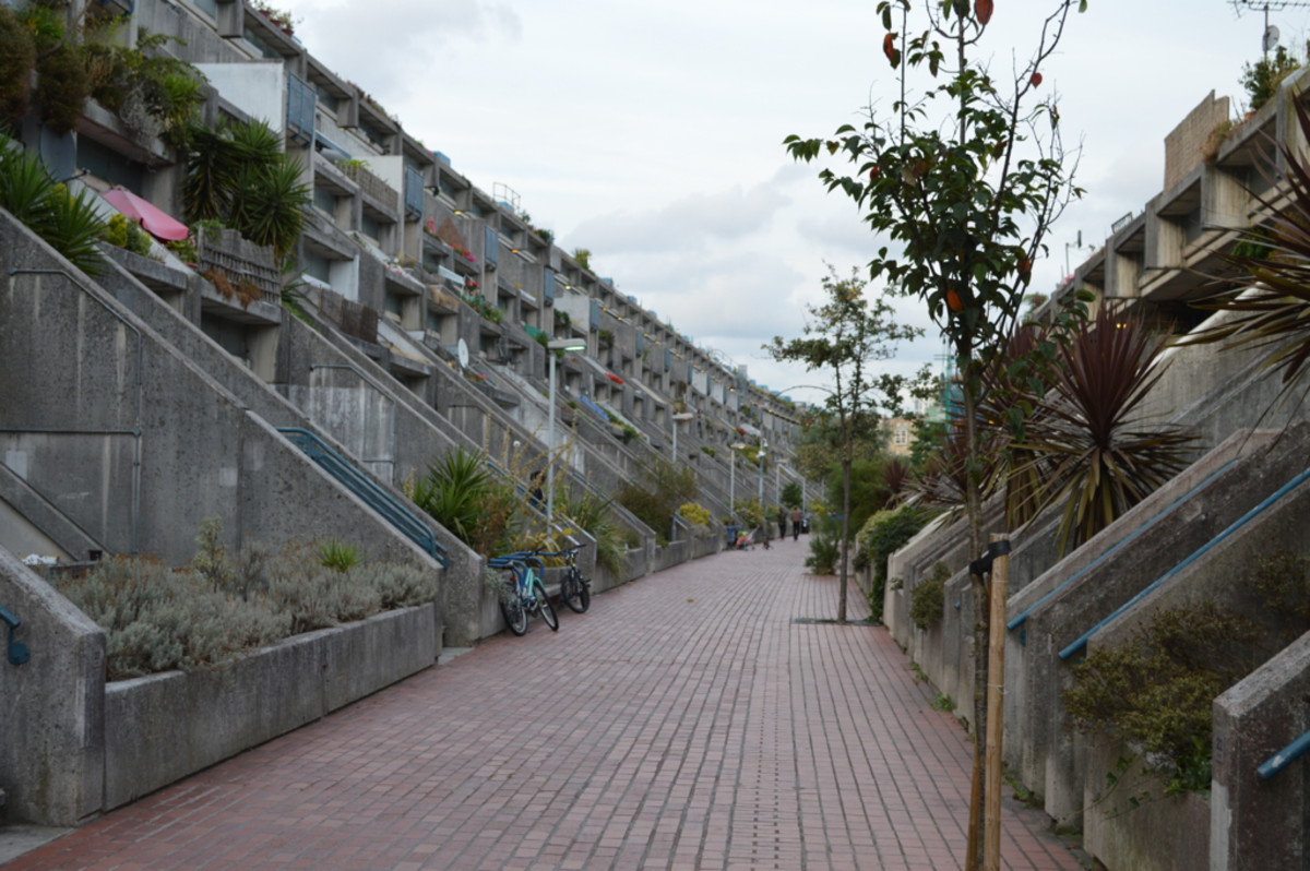The Alexandra Road Estate in London