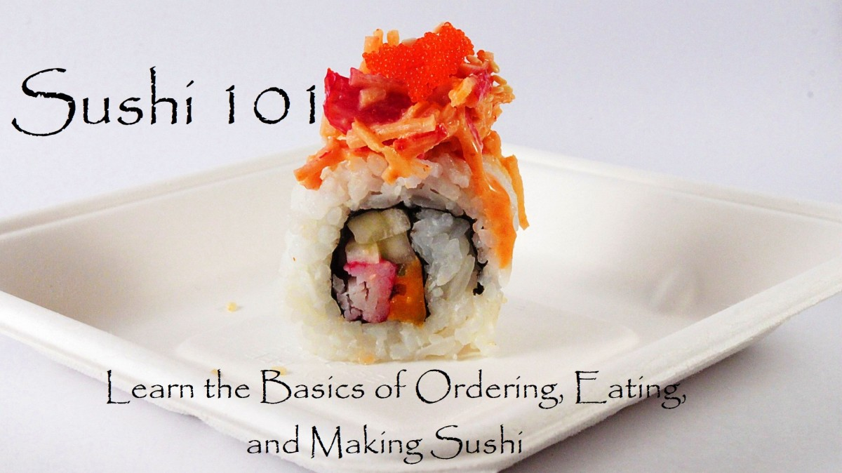 Making sushi at home is fun and easy