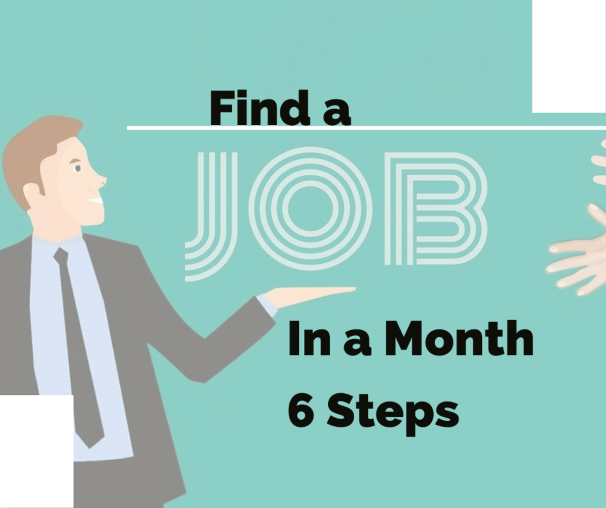 6 Steps on how to find a job quickly.
