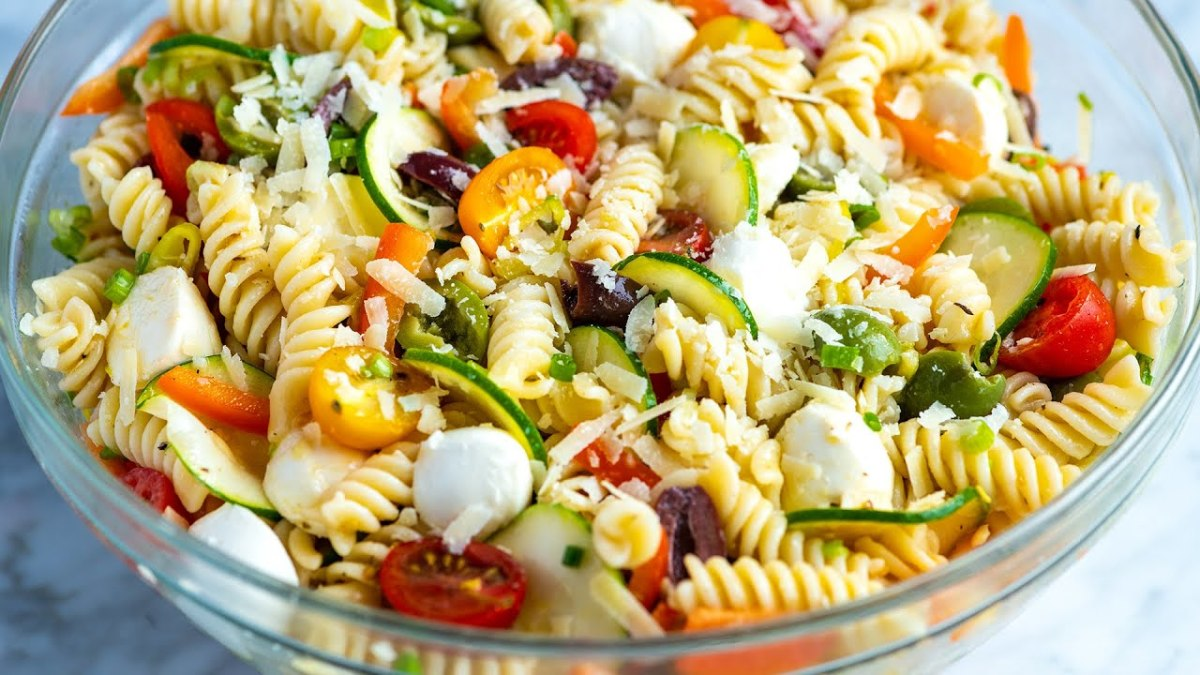 In 1982, pasta salad was a real crowd-pleaser.