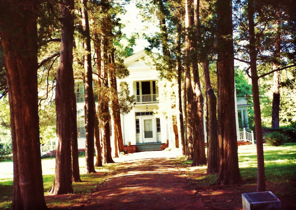 Rowan Oak (William Faulkner Home) in Oxford, Mississippi
