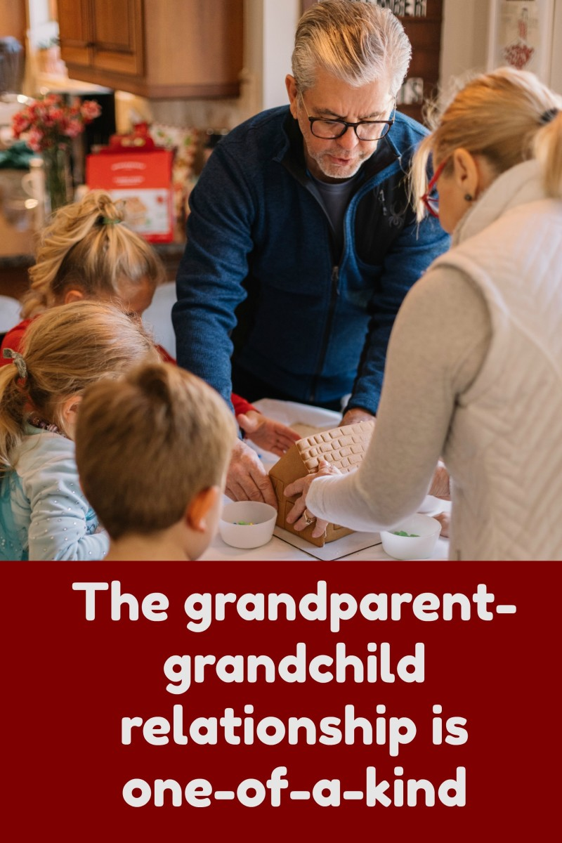 Grandparents offer something to grandchildren that's incredibly special and rare: unconditional love and acceptance.