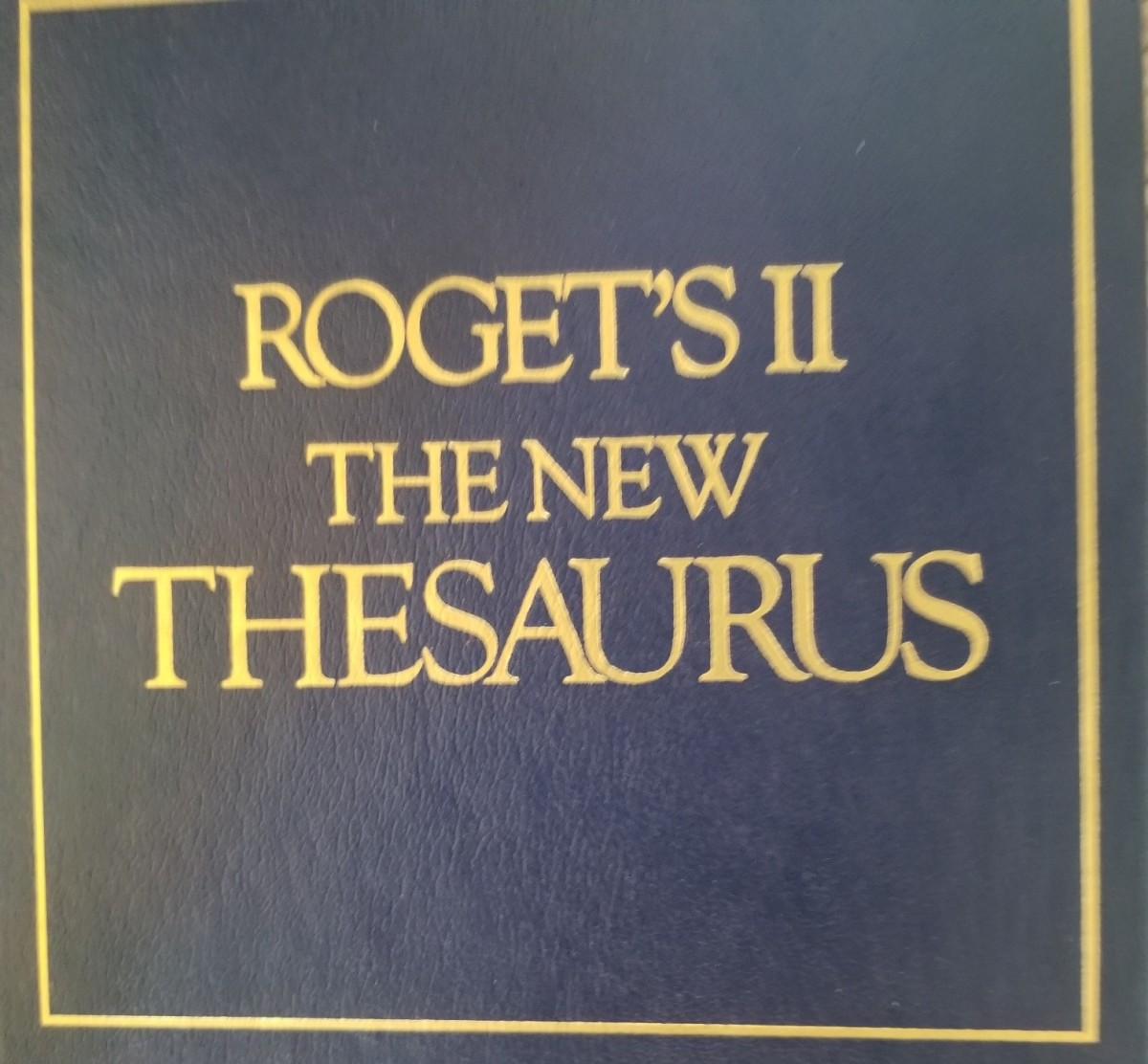 A thesaurus can help make your writing interesting.