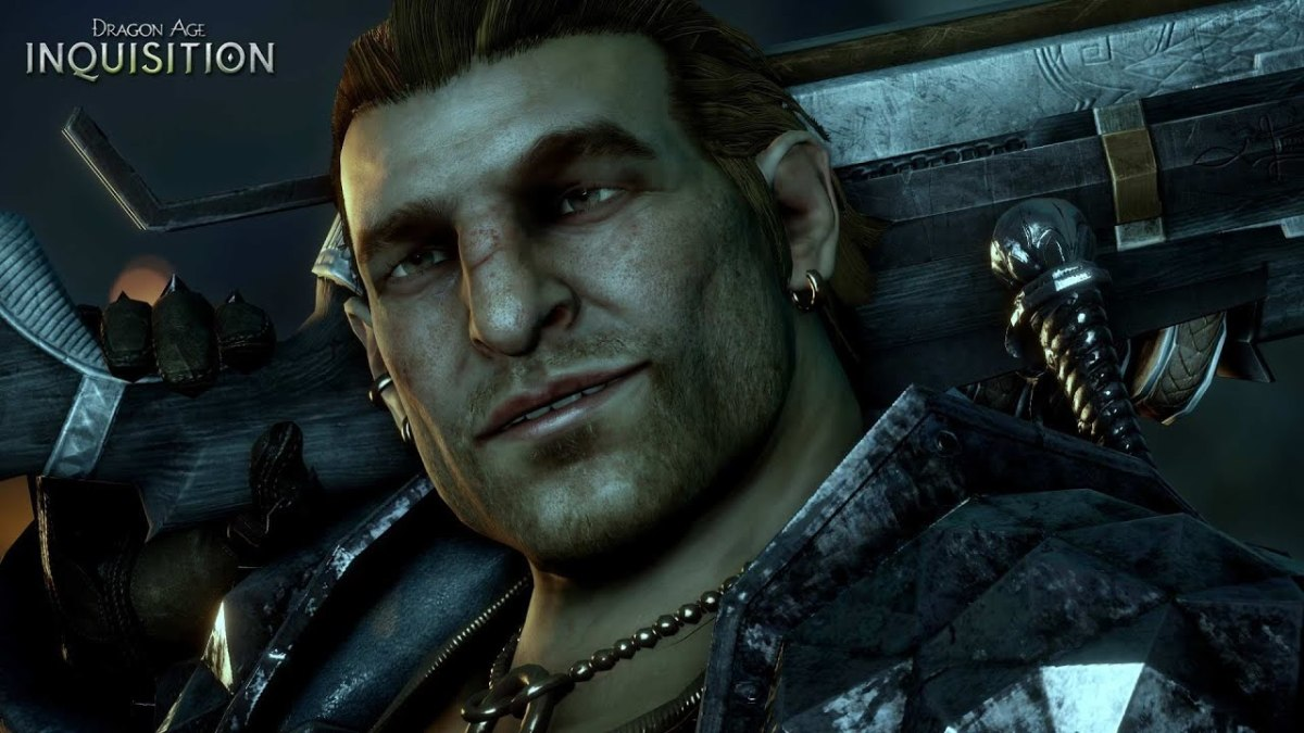 """Varric as he appears in """"Inquisition."""""""