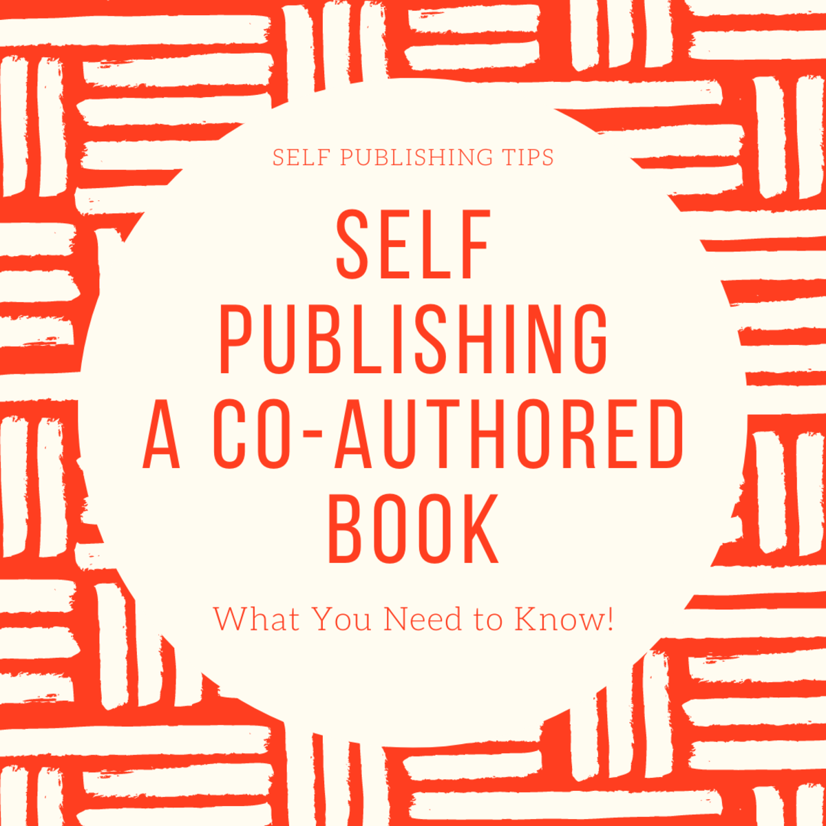 Co-authoring a self published book can be fun or frustrating! Find out what it takes.