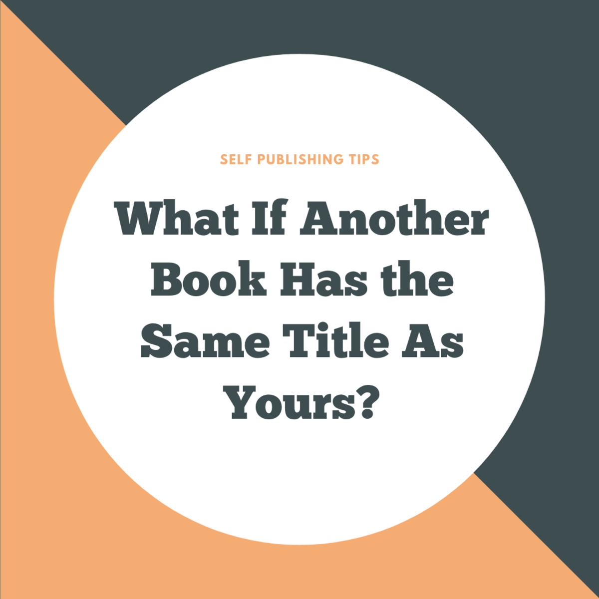 If another book has the same or similar title to yours, should you be concerned?