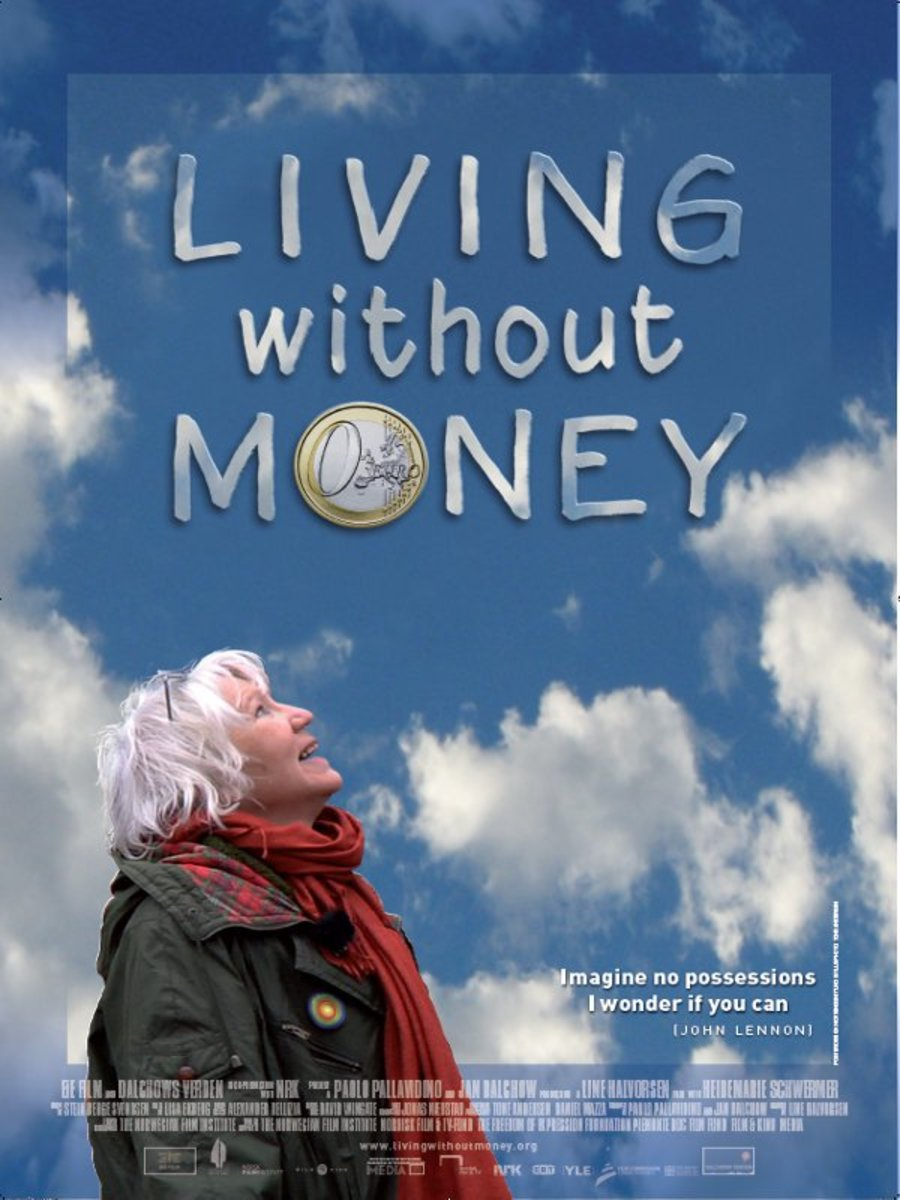 Poster for documentary Living Without Money