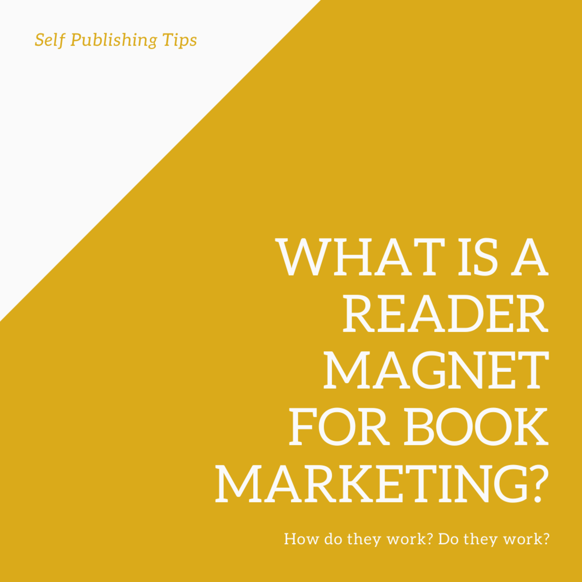 What are reader magnets? How do they work for book marketing? Do they work?