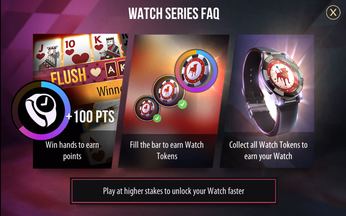 "This is the FAQ on watches found in ""Zynga Poker."""