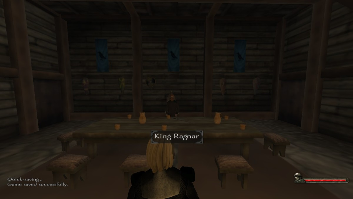 Swear fealty to King Ragnar of the Nords as soon as you can!