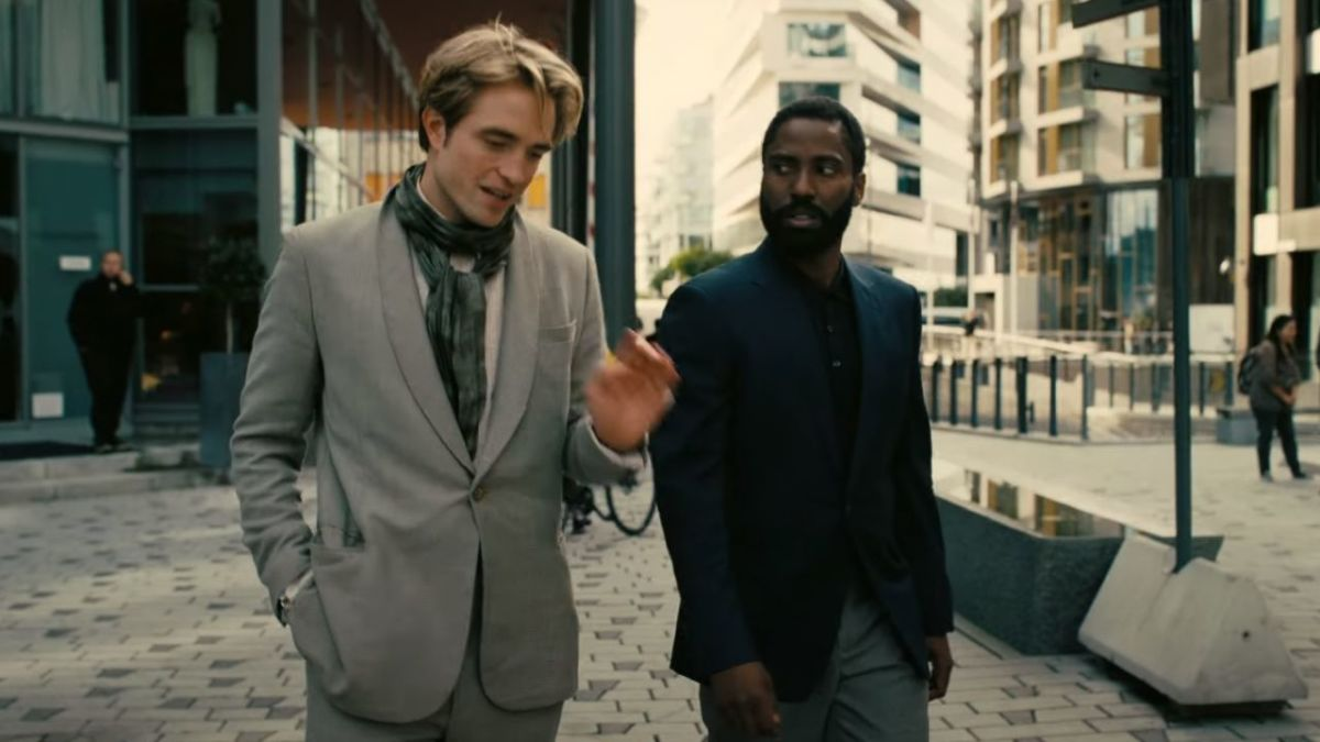 Pattinson (centre) and Washington (right) lead a fantastic cast in this trippy thriller, elevating both of them into genuine contenders to be the next James Bond...