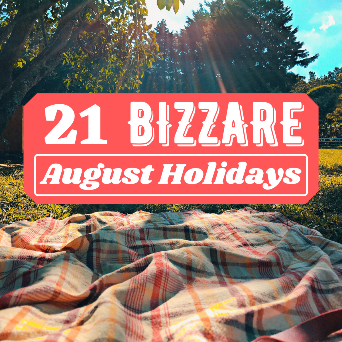Thought there were no holidays or special occasions in August? Think again!