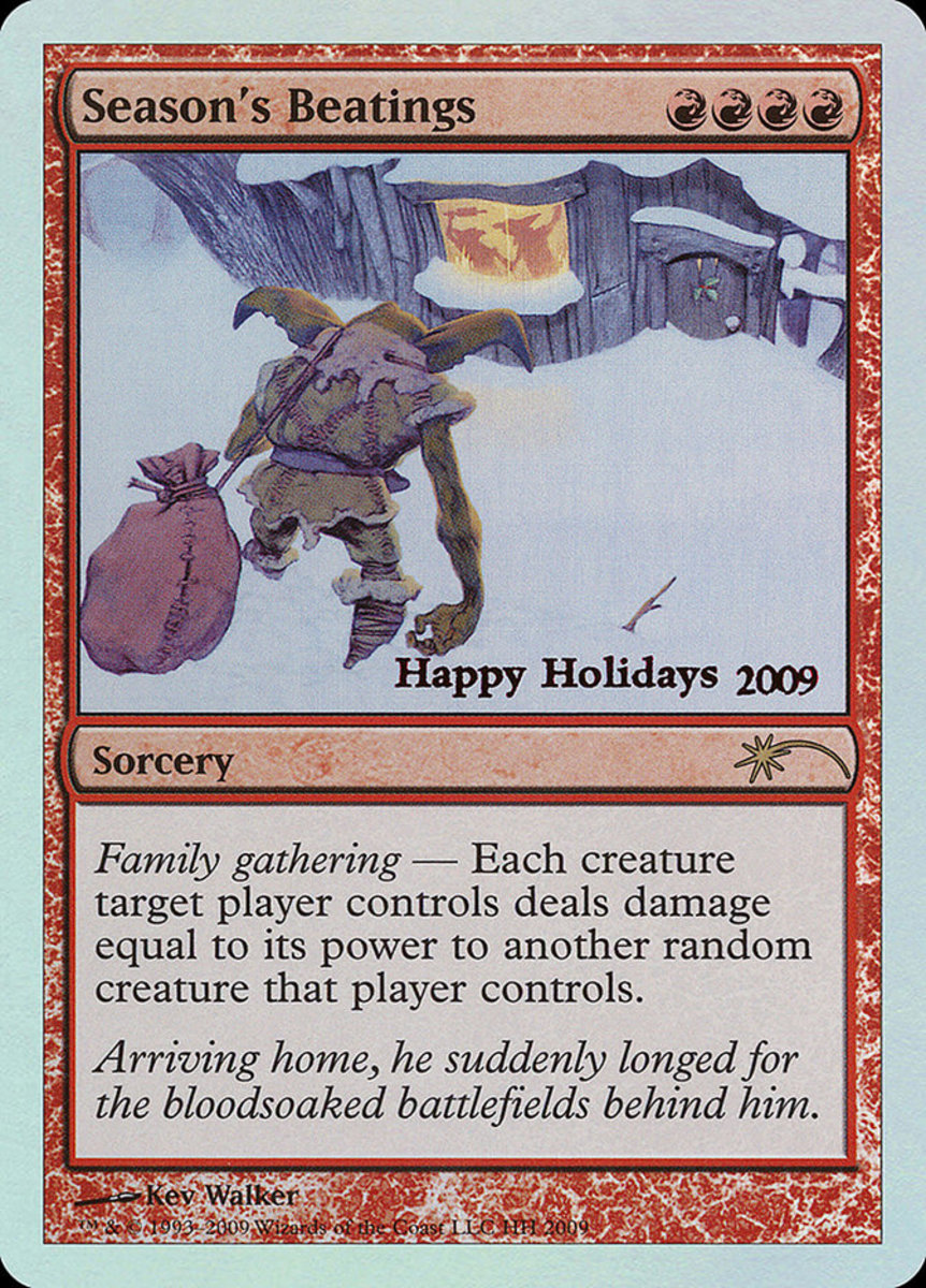 Top 10 Holiday Cards in Magic: The Gathering