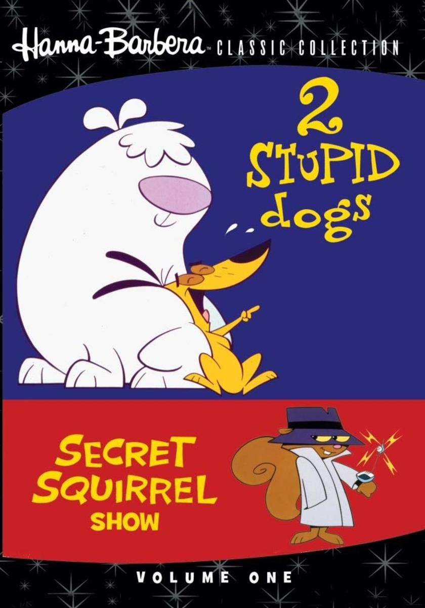DVD Cover of 2 Stupid Dogs: Volume One