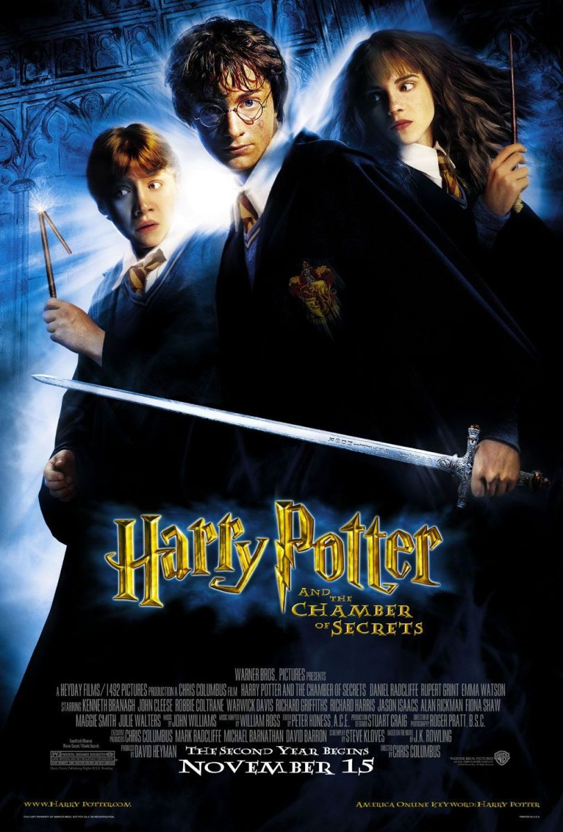 "Movie Review: ""Harry Potter and the Chamber of Secrets"""