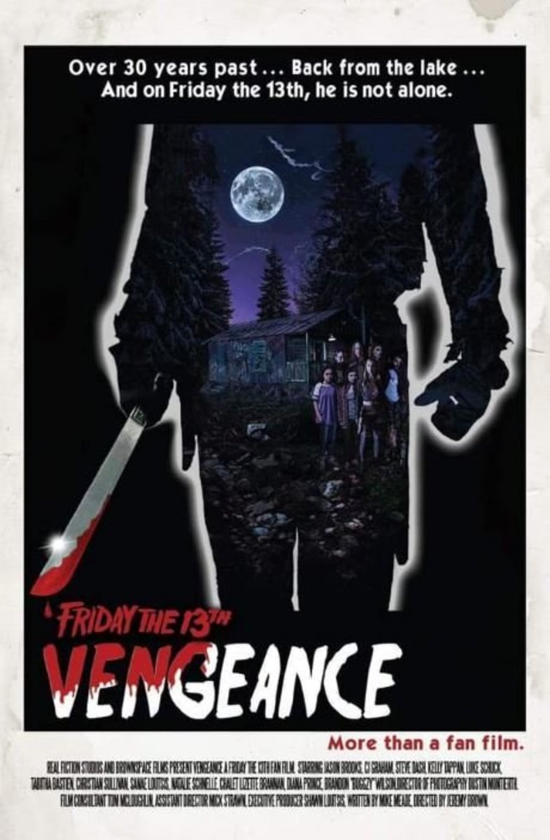 """Friday The 13th: Vengeance"" poster"