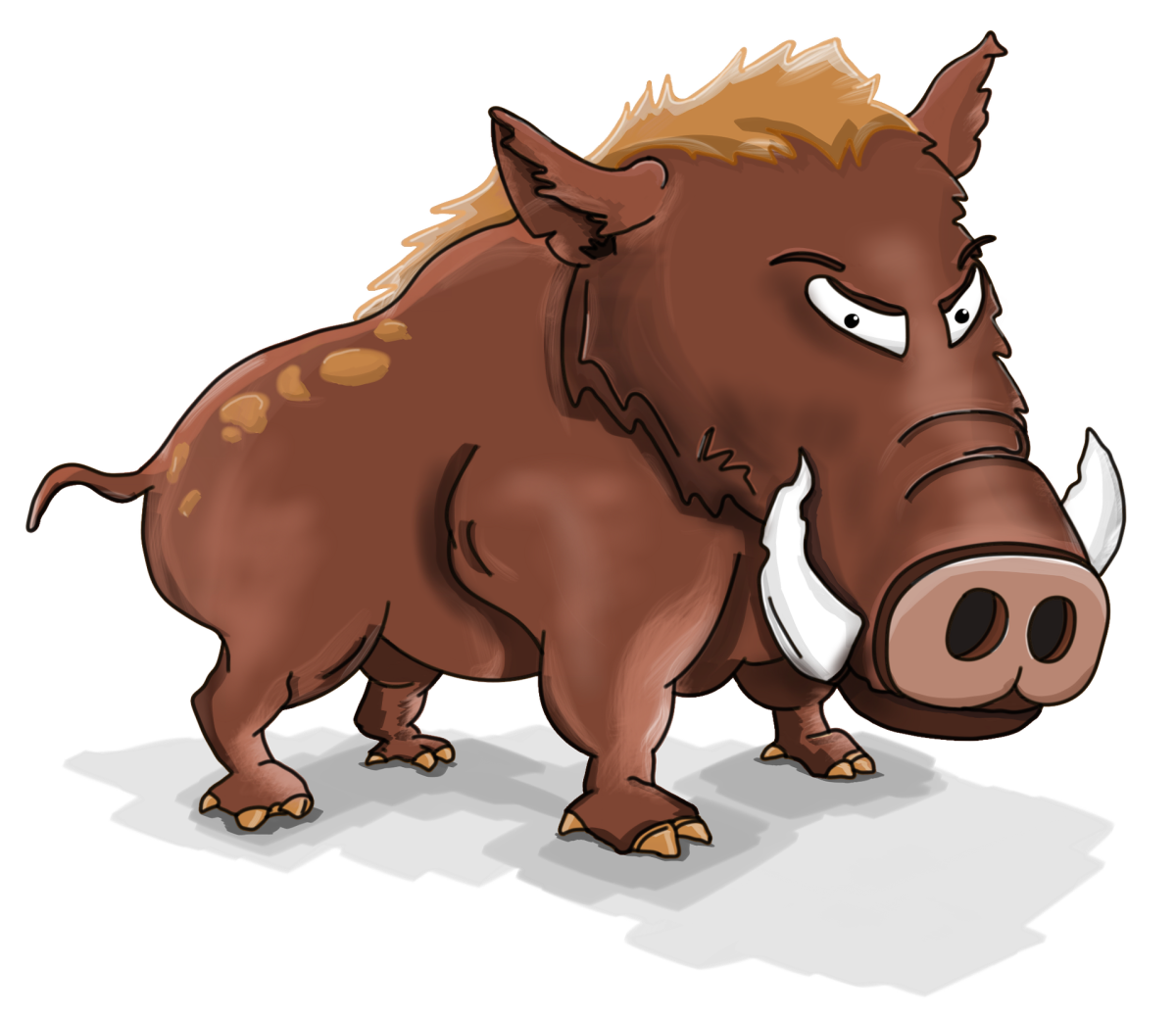 The Boar and the Wolf: A Poetry Challenge for My Hubber Friends