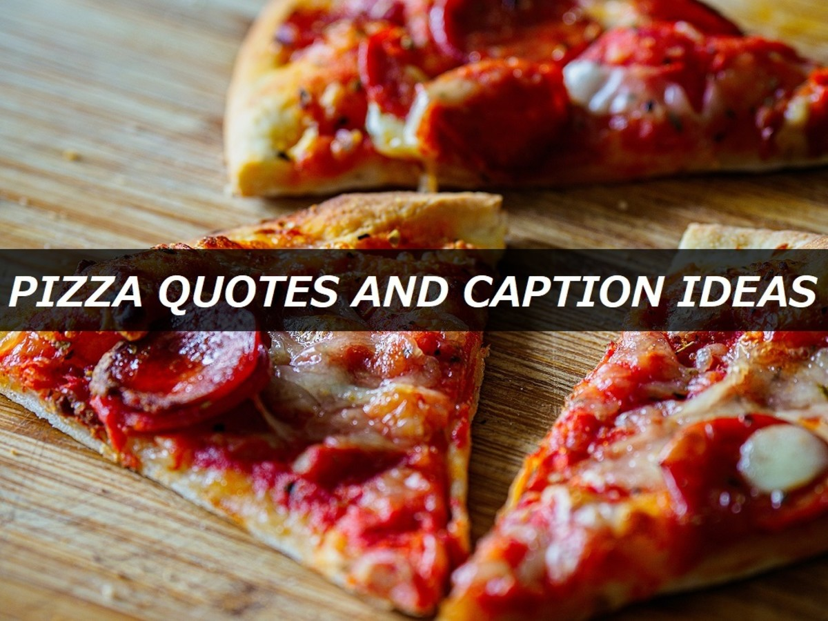 Pizza Quotes and Caption Ideas