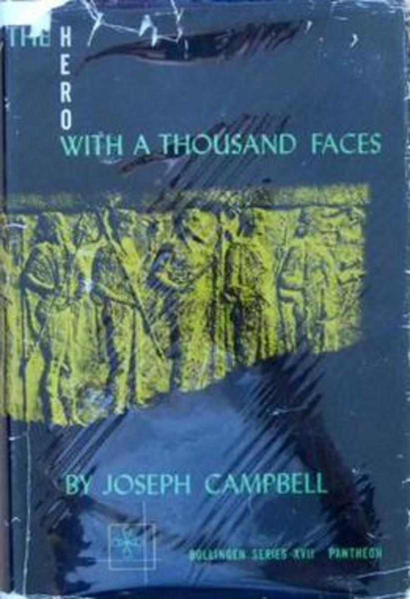 First-Edition Cover of Jospeh Campbell's Book