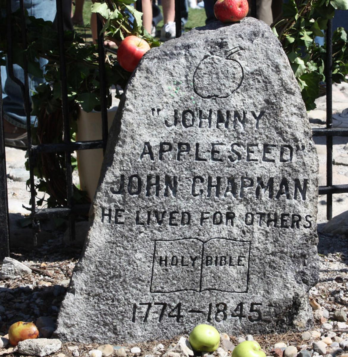 Johnny Appleseed Grave Marker