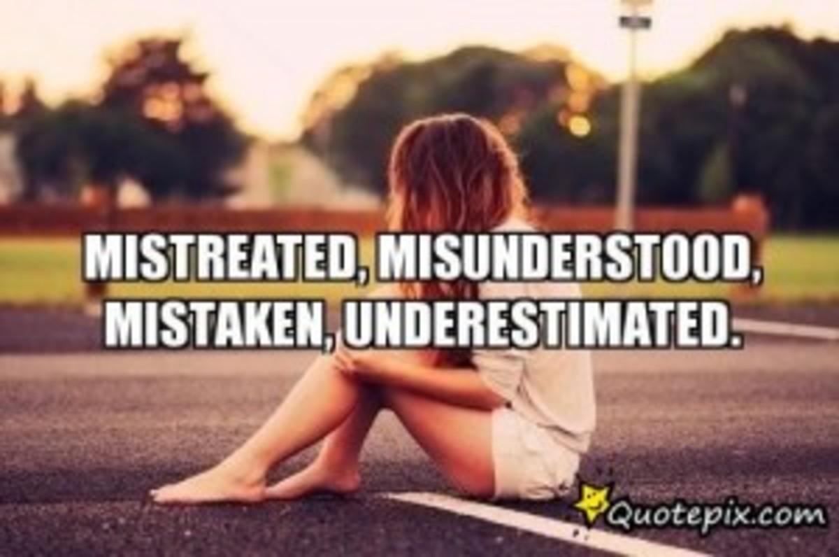 The Misunderstood (A Poem)