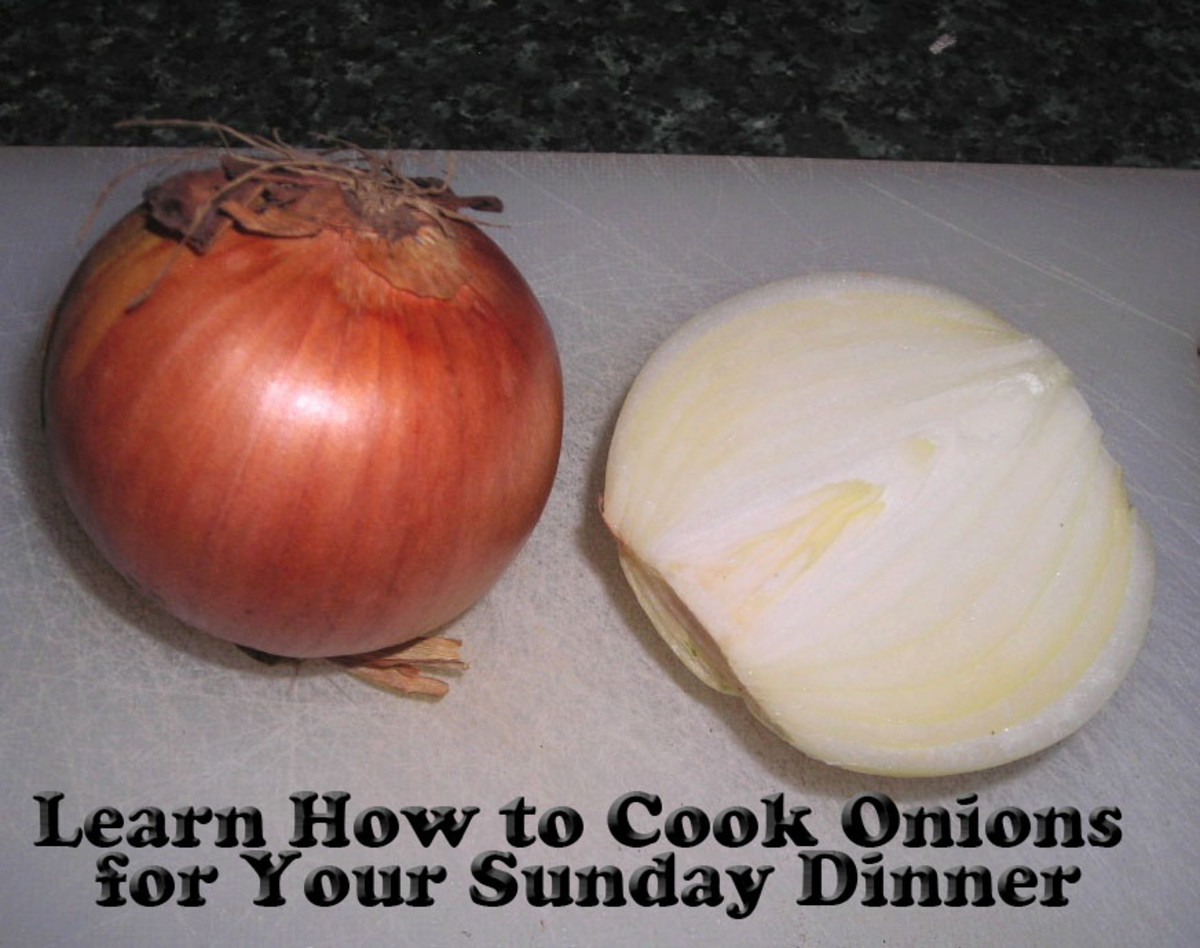 Learn How to Cook Vegetables for Sunday Dinner - Onions