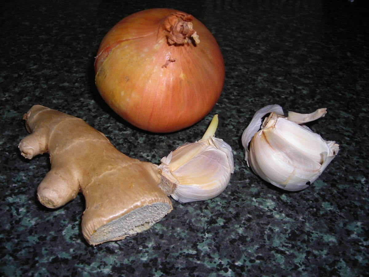 Onion, Garlic and Ginger