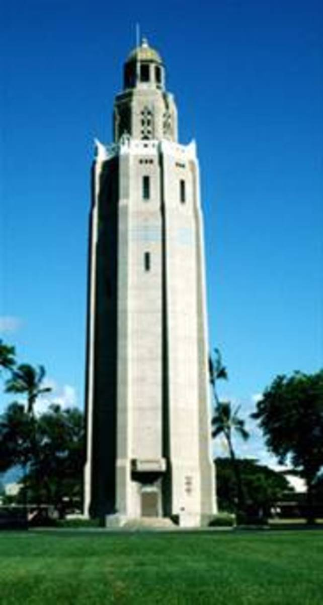 The Freedom Tower on Hickam AFB, Hawaii