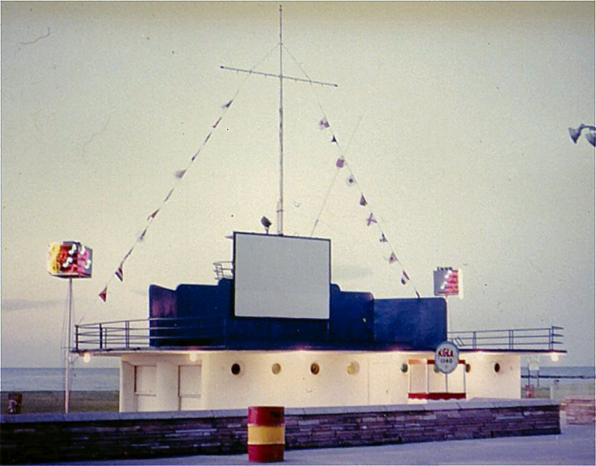 The stage at Pontchartrain Beach