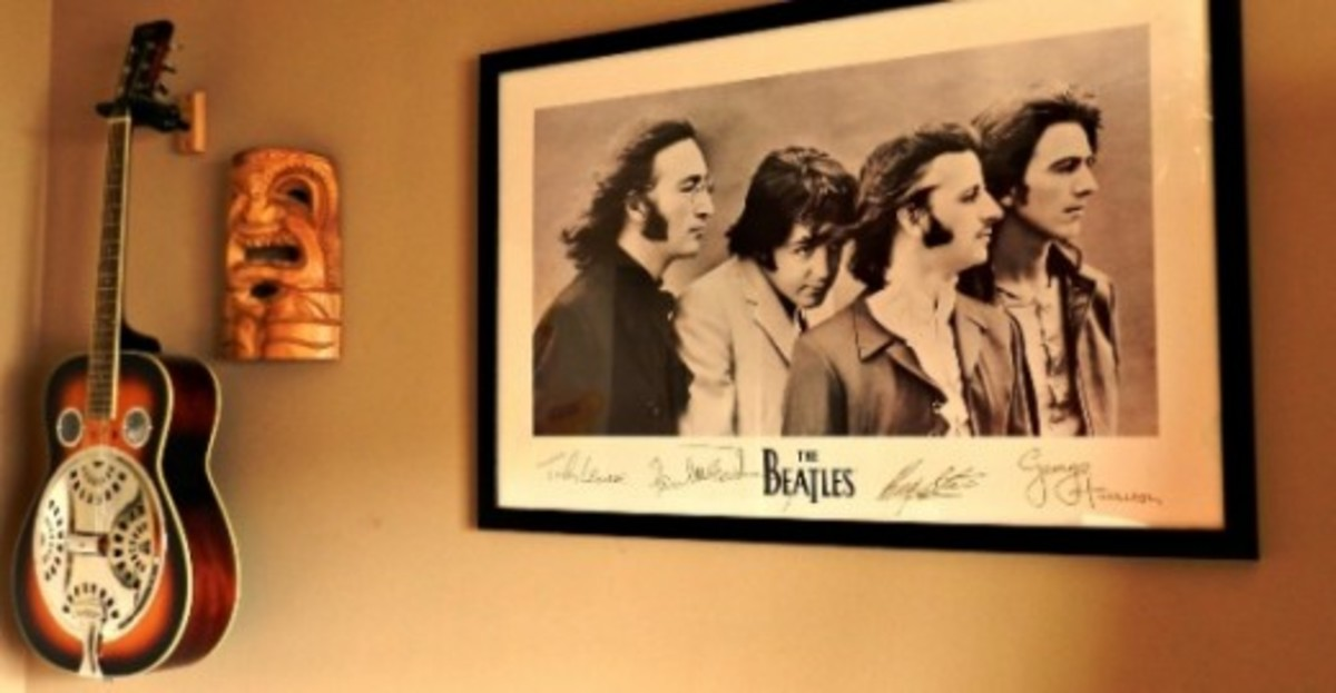 Beatles poster:image by Sherry Venegas