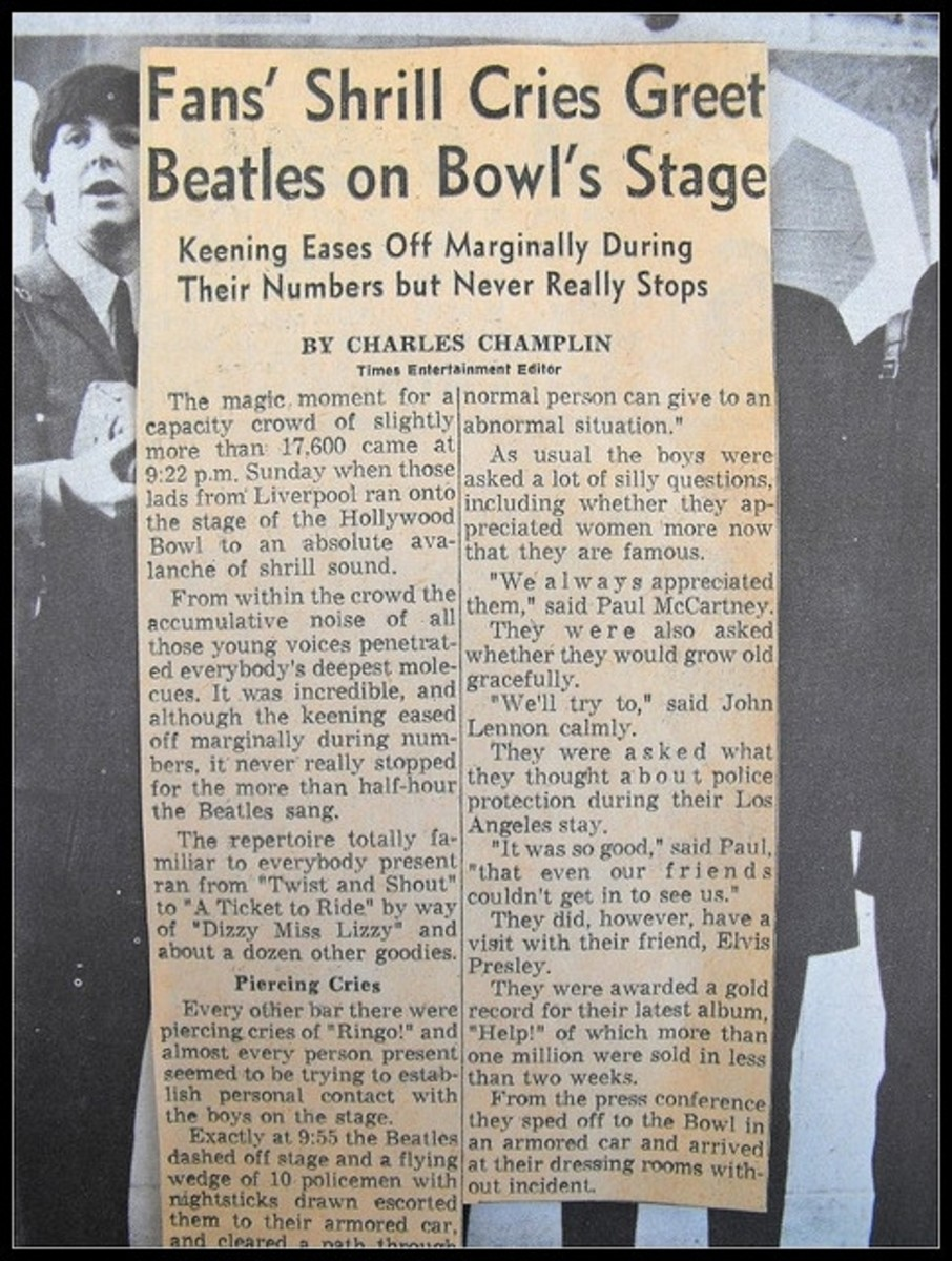 Newspaper clipping by Charles Champlin